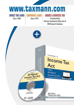 Taxmann.com (All Three Module - Direct Tax Laws / Corporate Laws / Goods & Service Tax) plus Income Tax Act with All About Income-tax Act (A Desktop Application)