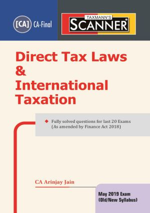 Scanner - Direct Tax Laws & International Taxation