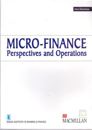 Micro - Finance Perspectives and Operations