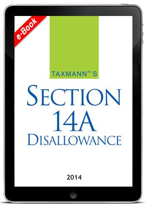 Section 14A Disallowance (e-book)