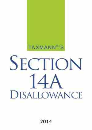 Section 14A Disallowance