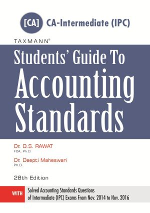 Students Guide to Accounting Standards - [CA-Intermediate (IPC)] by DS Rawat