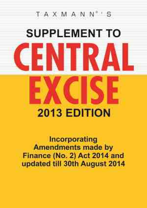 Supplement To Central Excise