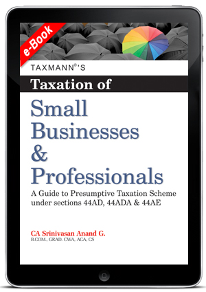 Taxation of Small Businesses & Professionals (E-book)