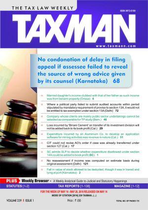 Taxman-The Tax Law Weekly