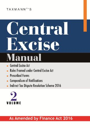 Central Excise Manual (Vol 2)