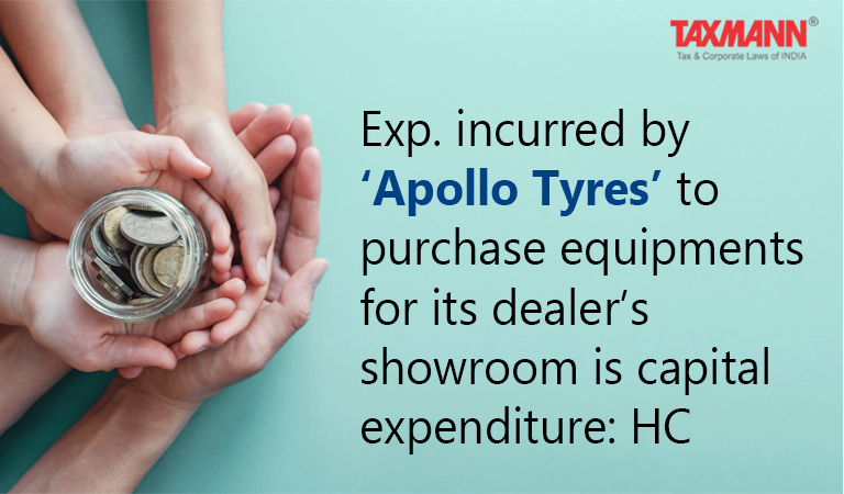 Exp. incurred on the purchase equipments is capital expenditure Section 260A