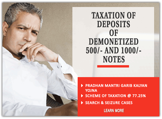Taxation of Deposits of Demonetized
