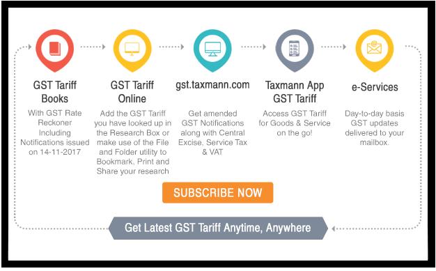 GST infographic