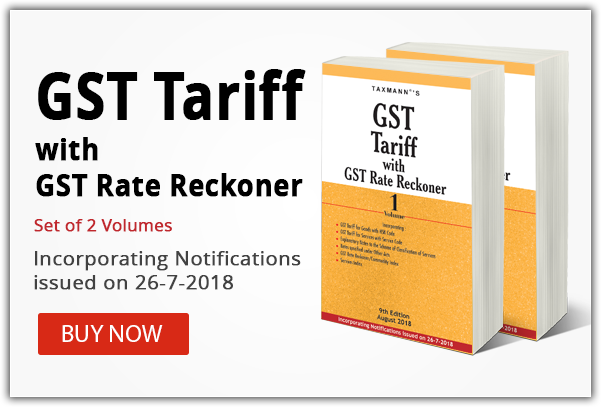 GST TARIFF_9TH EDITION