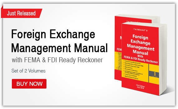 Foreign Exchange Management Manual with FEMA & FDI Ready Reckoner (Set of Two Volumes)
