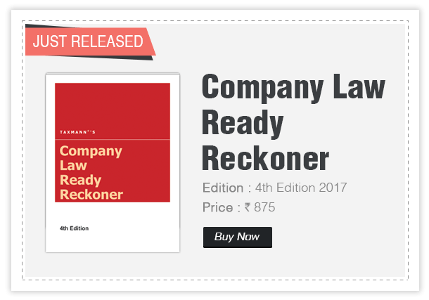 Company Law Ready Reckoner_4th Edition 2017