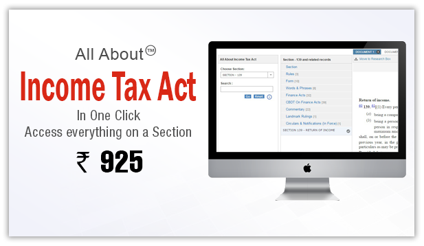 All About Income Tax Act
