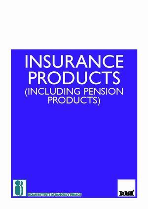 Insurance Products (Including Pension Products)