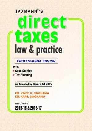 Direct Taxes Law & Practice (Hardbound)