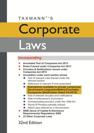 Corporate Laws (Hardbound Pocket Edition)