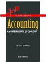 Accounting [CA-Intermediate (IPC) Group I] by CA DG Sharma