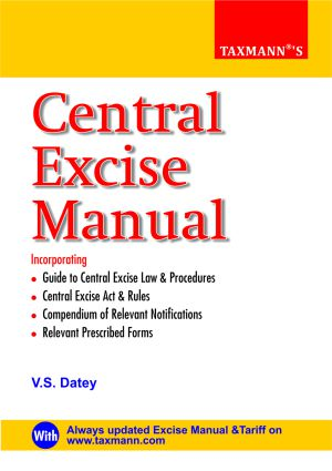 Central Excise Manual