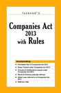 Companies Act 2013 with Rules (Paperback Edition)