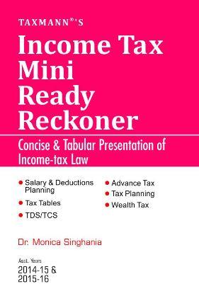 Income Tax Mini Ready Reckoner