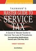 Master Guide to Service Tax