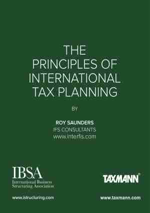 The Principles of International Tax Planning