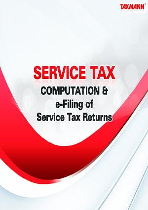 Service Tax Computation and e-Filing of Service Tax Returns 2015 (Single User)