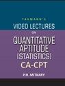 CA-CPT - Video Lectures on Quantitative Aptitude (Statistics) (Set of 2 DVDs)