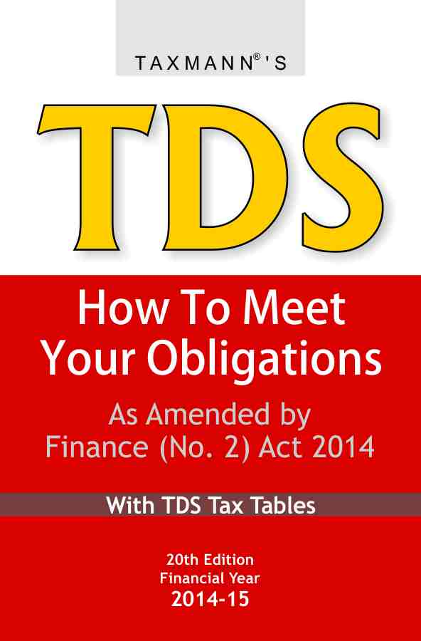 TDS How to Meet your Obligations with TDS Tax Tables